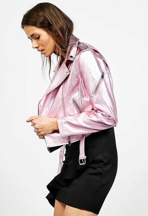 chaquetas metalizadas Zara