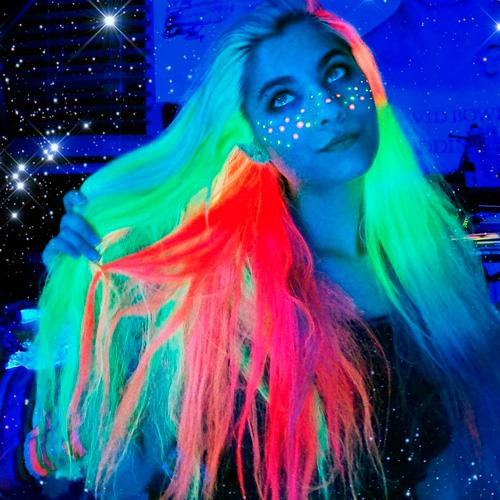 como hacer glow hair