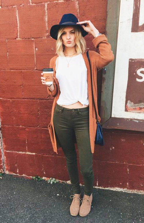 comprar pantalones verdes
