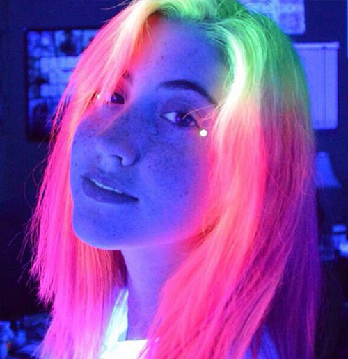 pelo brillante