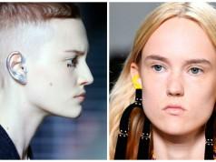 pintarse las orejas para ir a la moda