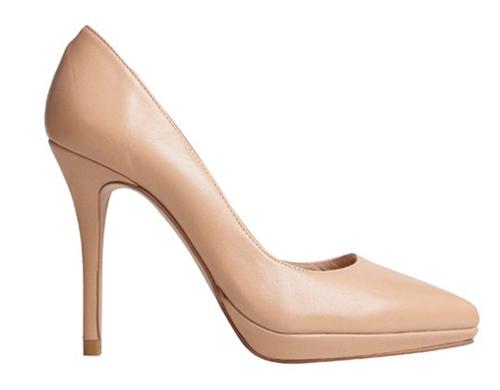 zapatos novia nude