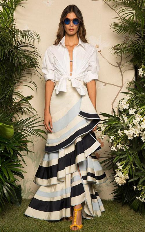 Falda flamenca tendencias