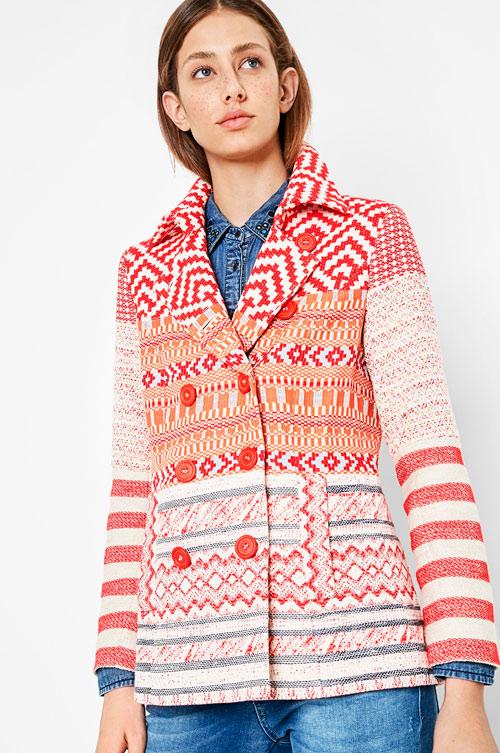 abrigos originales mujer
