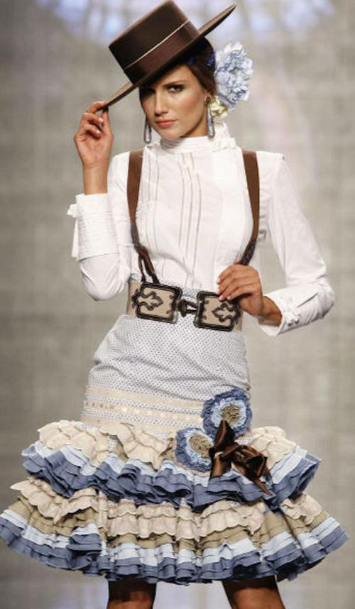 camisas para faldas flamencas