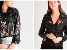 chaquetas de cuero personalizadas con tachuelas