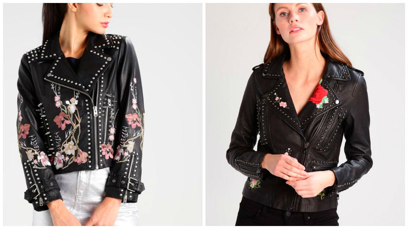 de44b36d14f chaquetas de cuero personalizadas con tachuelas - Tu Moda Online