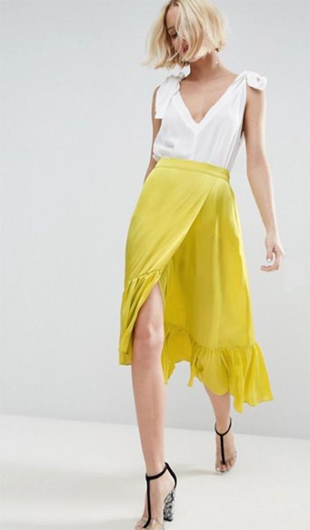 falda verano