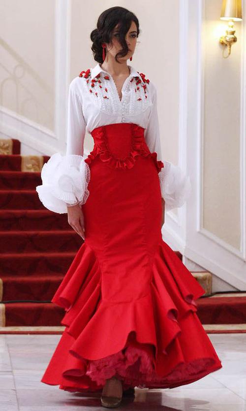 faldas flamencas baratas