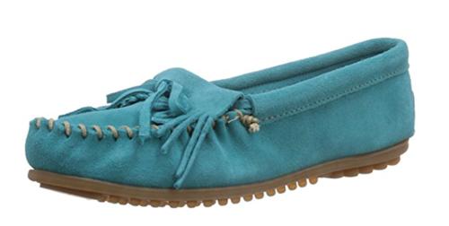 mocasines azul marino mujer
