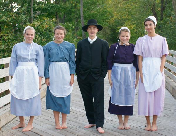 mujeres amish
