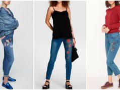 tendencias en pantalones bordados