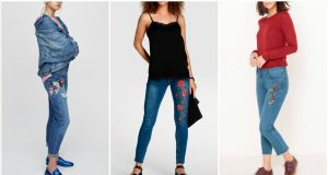 tendencias en pantalones bordados
