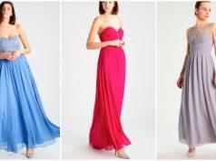 vestidos largos escote corazon baratos