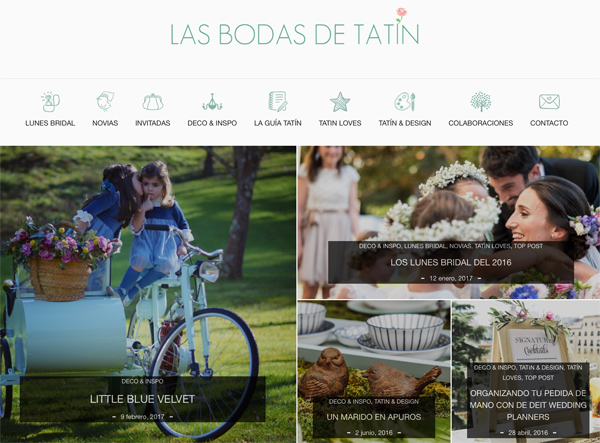 ideas bodas 2017