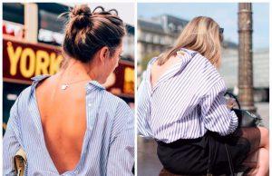 camisas abrochadas al reves tendencia