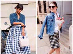 faldas cuadros temporada tendencia