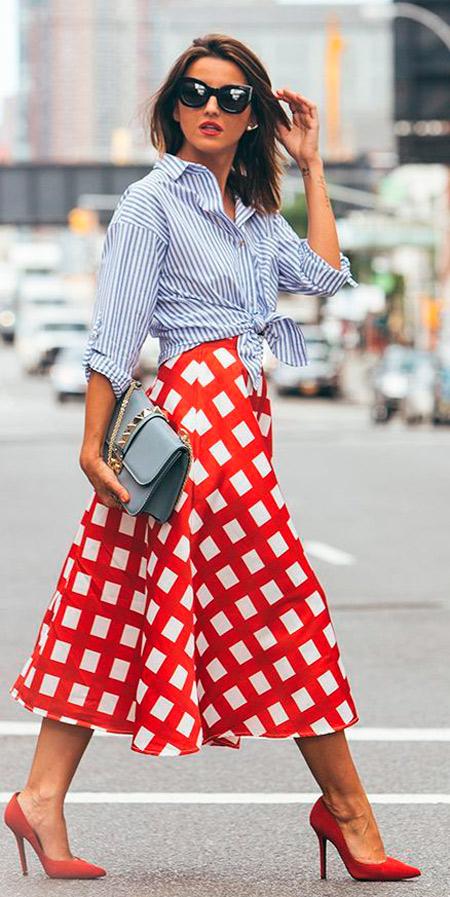 faldas primavera mujer