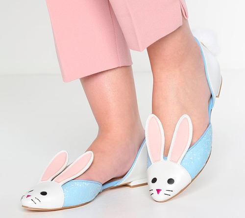 katy perry boda zapatos conejo