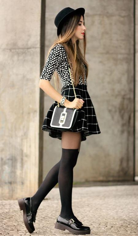 look con faldas