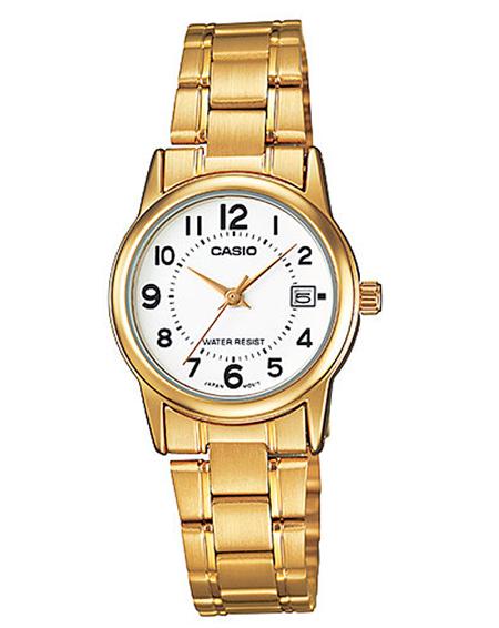 relojes color dorado