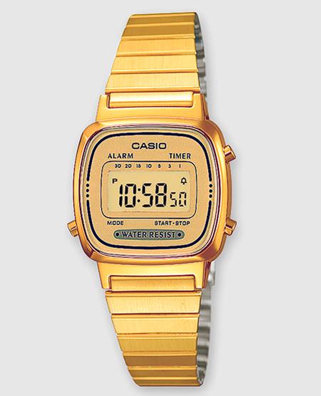 relojes dorados mujer moda