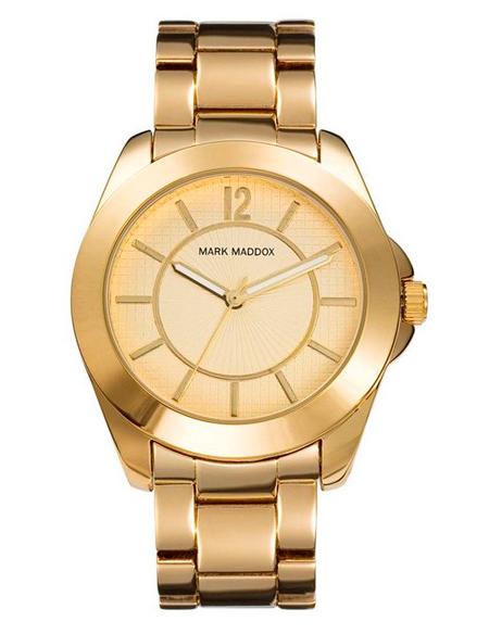 relojes mujer dorado