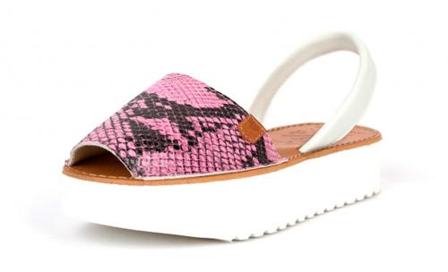 sandalias menorquinas mujer