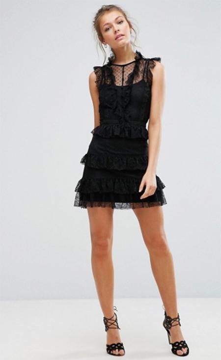 1ec64b9653e0 vestido encaje largo - Tu Moda Online