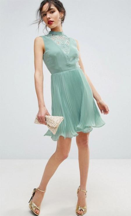 vestidos coctel encaje