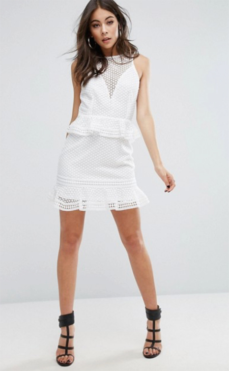 vestidos encaje blanco
