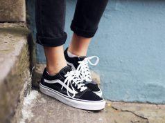 zapatos vans negros