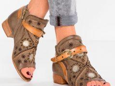 botines de piel baratos