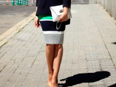 falda tubo corta