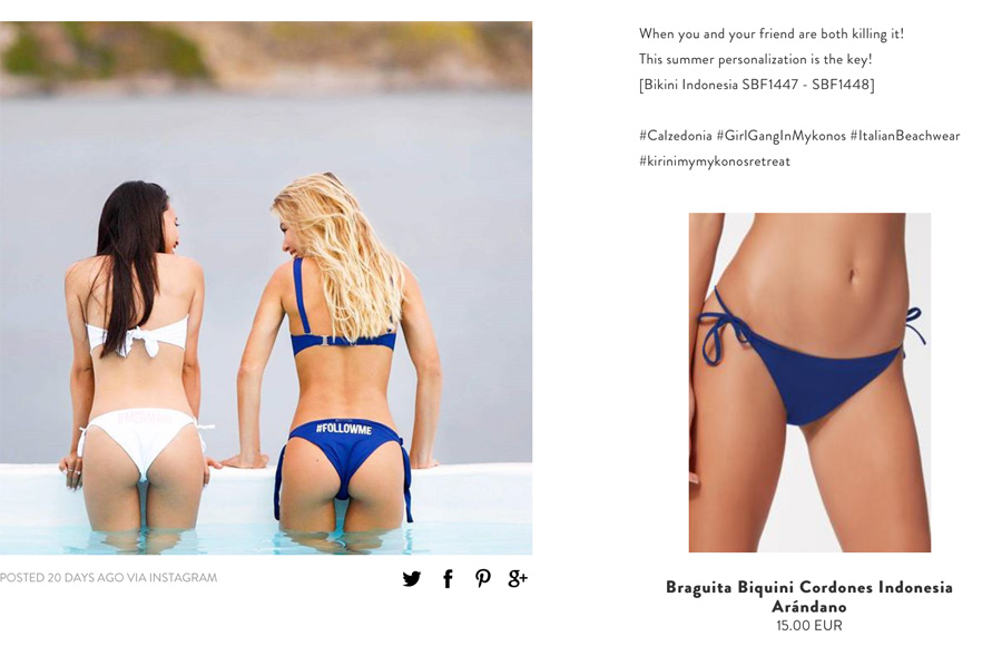bikinis barcelona baratos