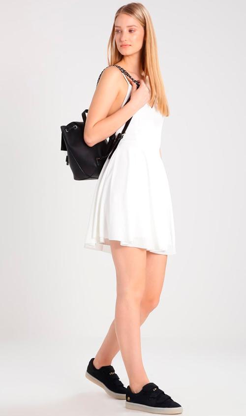 blanco vestidos fiesta