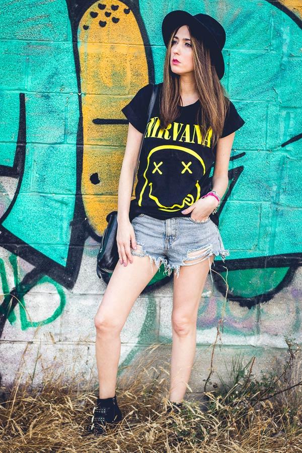 camisas grunge mujer