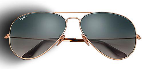 gafas de sol con cristales de colores