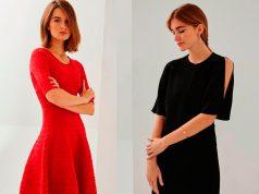 mujeres con vestidos cortos