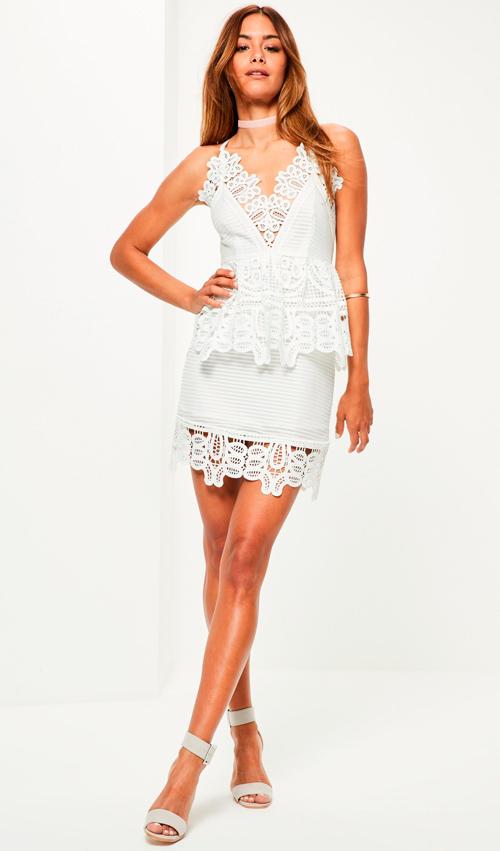vestidos de blanco