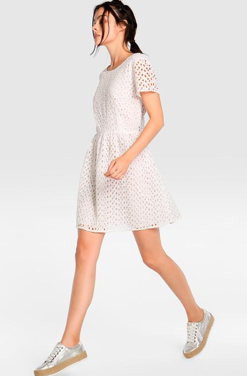 vestidos en blanco