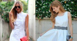 vestidos fiesta blancos