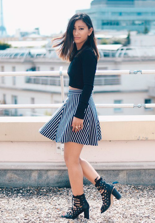 fotos minifalda