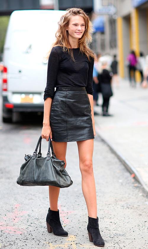 minifalda muy corta