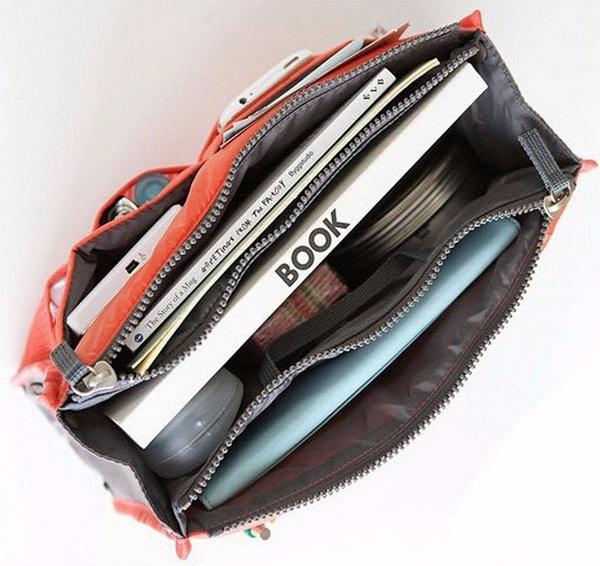 organizar el bolso
