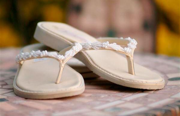 que zapato llevar en una boda en la playa