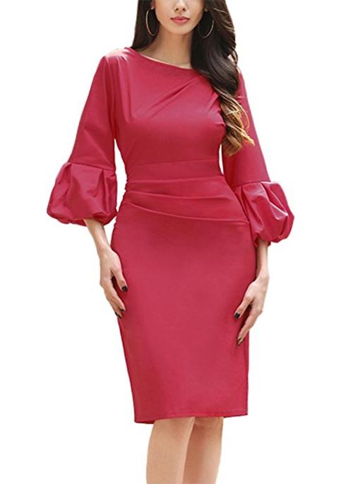 accesorios para un vestido rojo