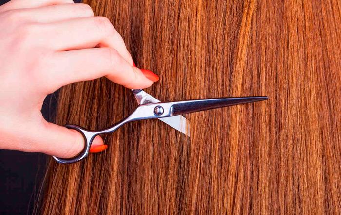 cómo cortar el flequillo