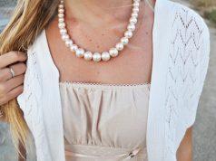 perlas con la ropa