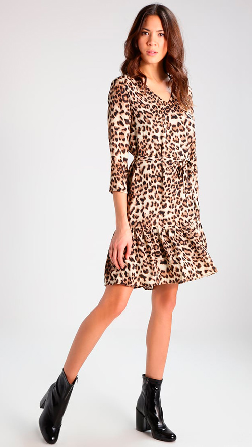vestidos animal print baratos